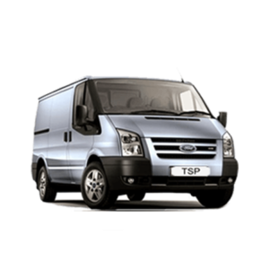 Ford silver Transit Van - Capacity: 35 Sq Ft